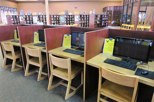 SEISD San Elizario High School Library