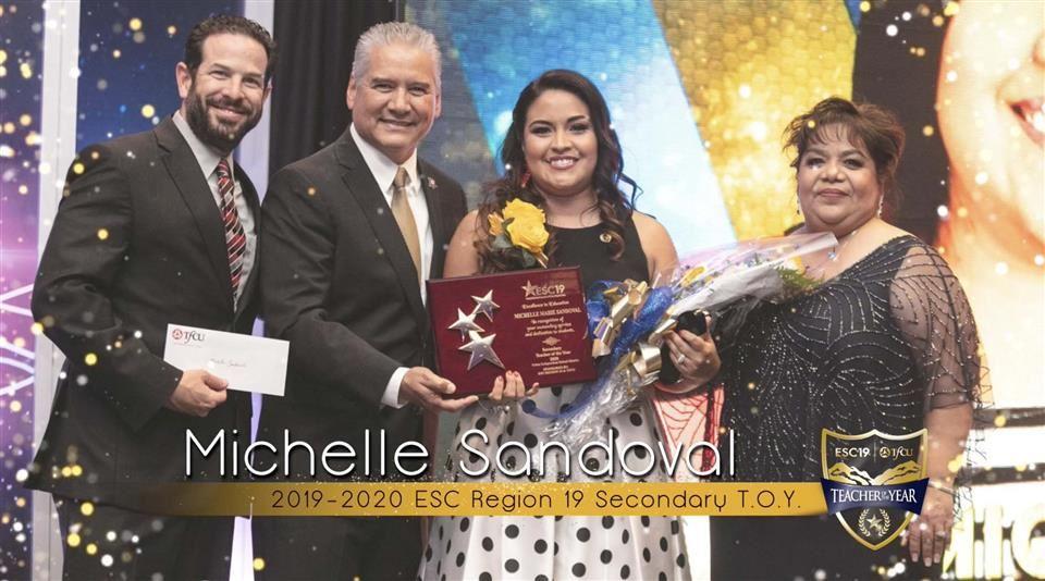 2020 Texas Teacher of the Year Michelle Sandoval