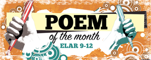 Poem of the Month by ELAR