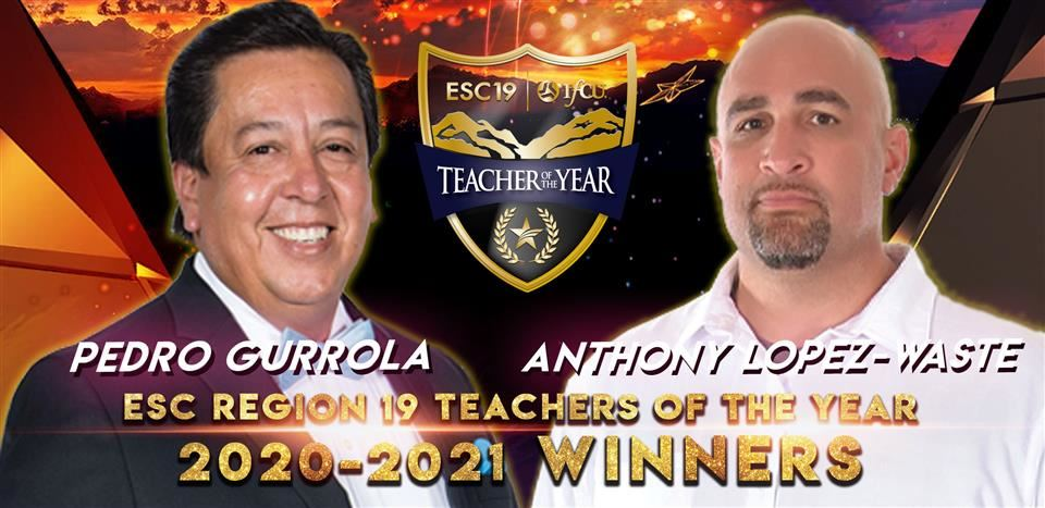 2021 ESC19 Teacher of the Year Winners
