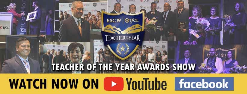 Teacher of the Year Videos on YouTube and Facebook