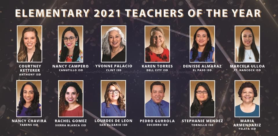 Elementary Teachers of the Year 2021