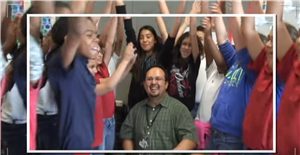 2014-2015 opening video for the Region 19 Teacher of the Year Gala features Happy Music Video