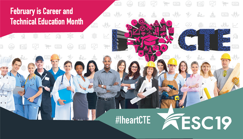 February is Career and Technical Education Month!