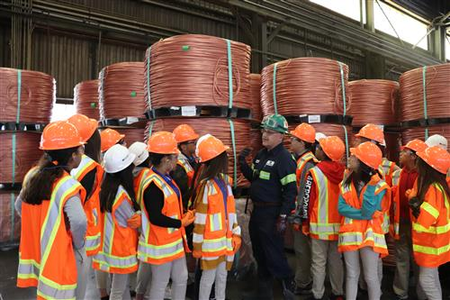 Gear Up Freeport McMoran Field Trip