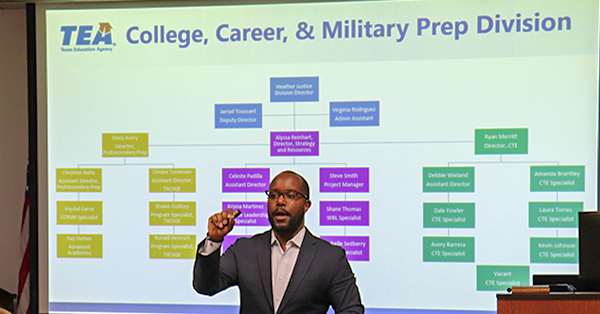 TEA College, Career & Military Prep Listening Tour