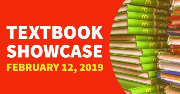 2/12/2019—2019 Textbook Showcase