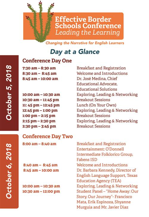 EBSC Day at a Glance