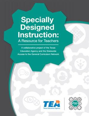 Specially Designed Instruction Resource Guide