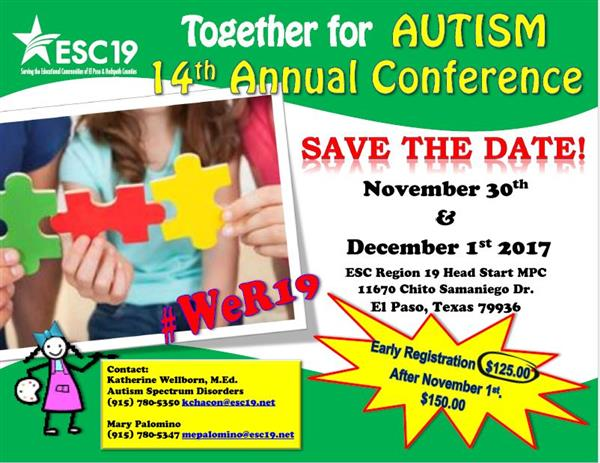 14th Annual Together for Autism Conference