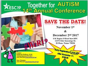 14th Annual Together for Autism Conference!  2017